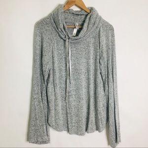 Gilligan o Malley oversized neck grey sweatshirt